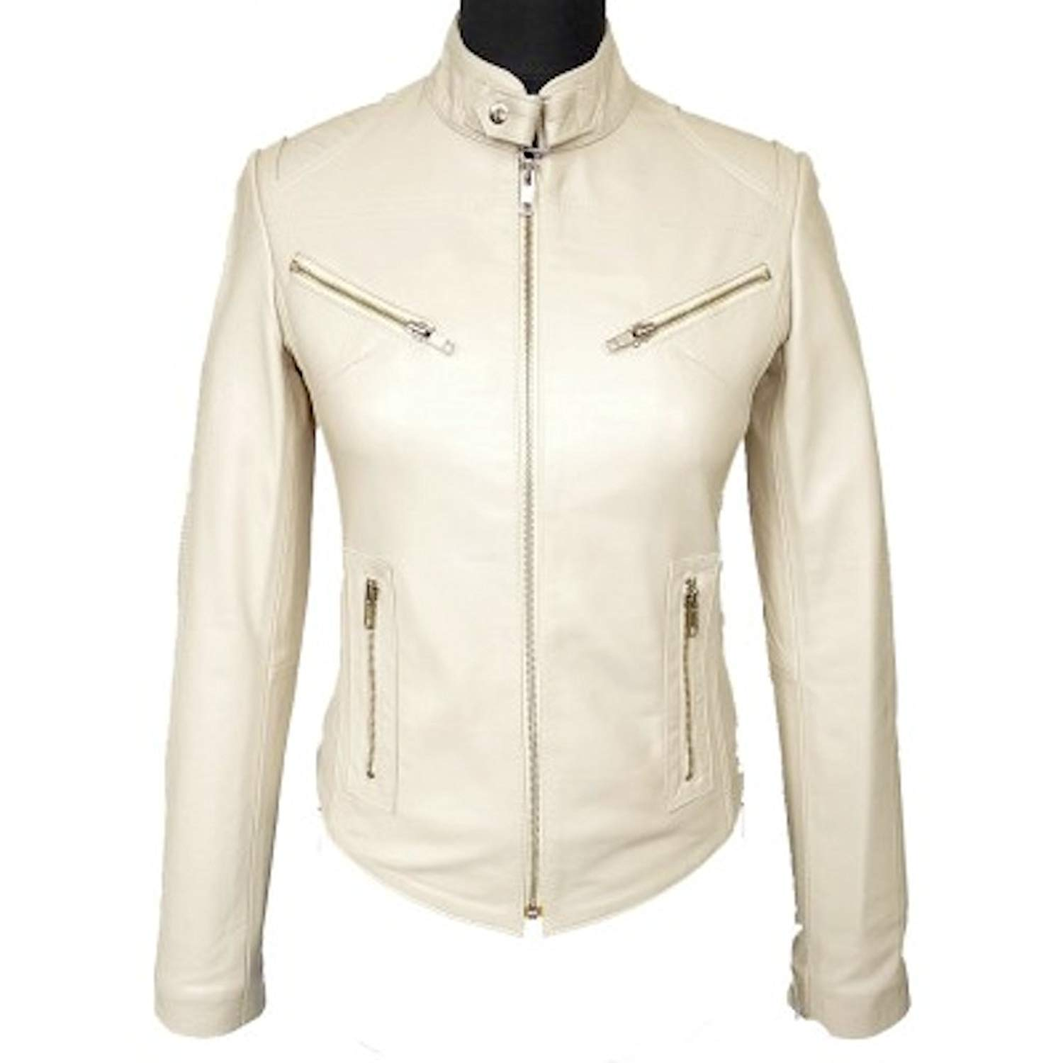 Aamby Womens Leather Jacket