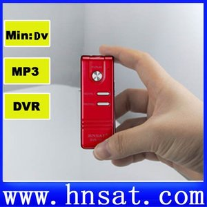 Mini Camera with TF Card Slot audio recording video and photography in one  hnsat DVR-136