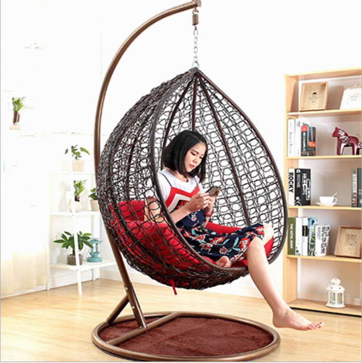Fashion Garden Furniture Wicker Rattan Egg Hanging Indoor Swing Chair With Stand Buy Rattan Wicker Chair Indoor Swing Chair Hanging Indoor Swing Chair Product On Alibaba Com