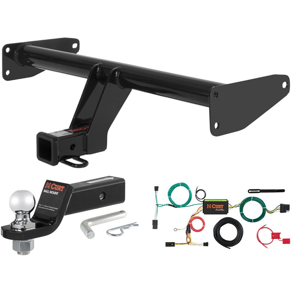"CURT Class 3 Hitch Tow Package w/ 2"" Ball for 2013-2015 Chevrolet Captiva Sport"