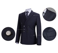 hot selling Bespoke mens slim fit suits pictures / MTM trendy business suits for man