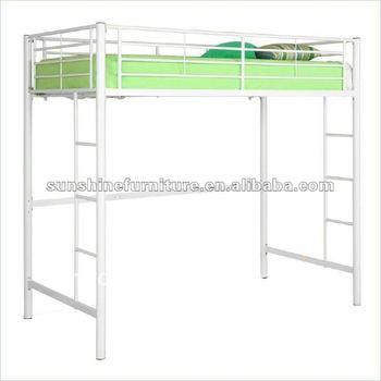 Wit Metalen Stapelbed.Metalen Dubbele Loft Stapelbed In Wit Voor Kinderen Volwassenen