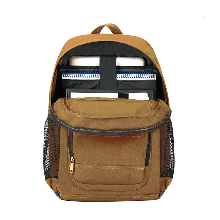 1BP0075 Hot Selling 1200D Polyester Large One Compartment Backpack For Two Laptops