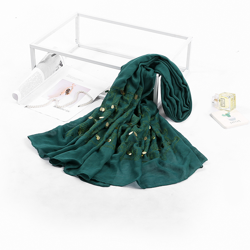 Pretty scarf hijabs wholesale women wrap stoles for arab malaysia girls bubai shawl