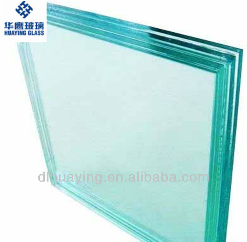 Laminated safety glass price with ISO9001 & CCC in Dalian