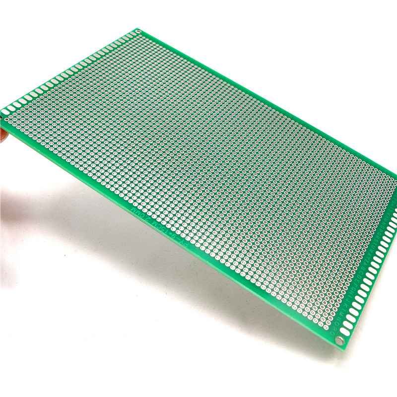 Free shinpping 10pcs / lot tunnel experiment board 9 * 15CM 1.6 2.0 thick pitch -sided spray tin universal board Universal board