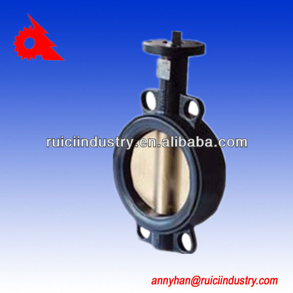 gg50 CF8M butterfly vslve body cast iron