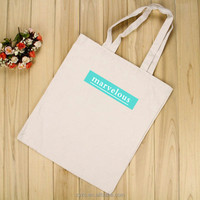 Best selling products promotional cotton canvas tote 2d cartoon bags