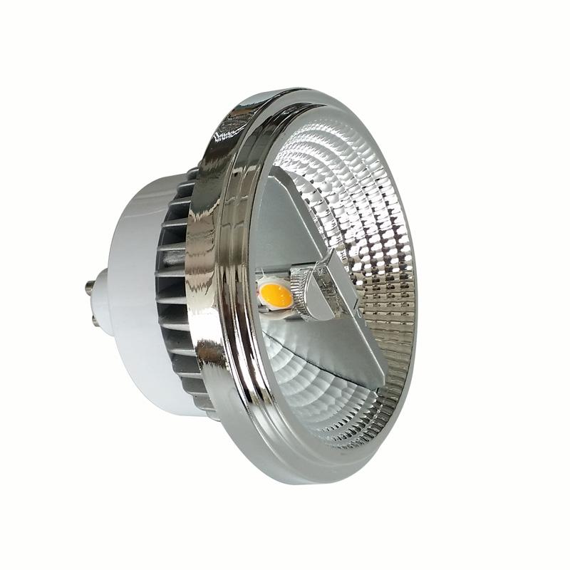 ac85-265v DC12-24V 10w 12w 15w Double side lighting GU10 G53 ar111 cob led spot light