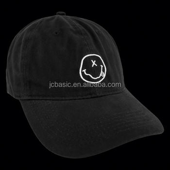 Daijun Brand China Factory High Quality Black Men 100% Cotton Plain Custom  Baseball Cap Dad e3fb100f4fc0