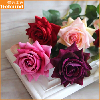 Wf 721 wholesale silk flower artificial rose flower for wedding wf 721 wholesale silk flower artificial rose flower for wedding decoration mightylinksfo
