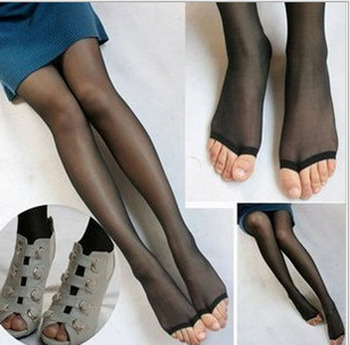 Confirm. free sandals in pantyhose