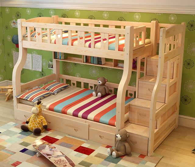 Letti per bambini in legno letto in legno with letti per - Tobogan infantil ikea ...