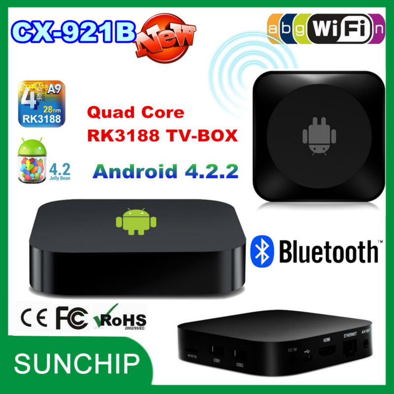 android <strong>tv</strong> <strong>dongle</strong> webcam android 4.2.2 smart <strong>tv</strong> <strong>dongle</strong> rk3188 quad core google <strong>tv</strong> <strong>dongle</strong> wifi android <strong>tv</strong> <strong>box</strong> with bluetooCX-921B