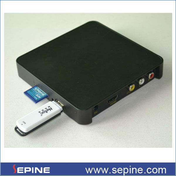 china best full sd usb card hd 1080p media player