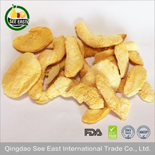 healthy snack food dried fruits freeze dried yellow peach dried peaches