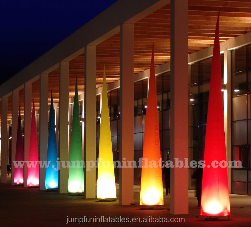 Event Inflatable Lighting/LED Inflatable Cones