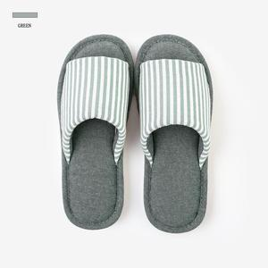 Fashionable and durable slip-proof cotton mid-sole slippers