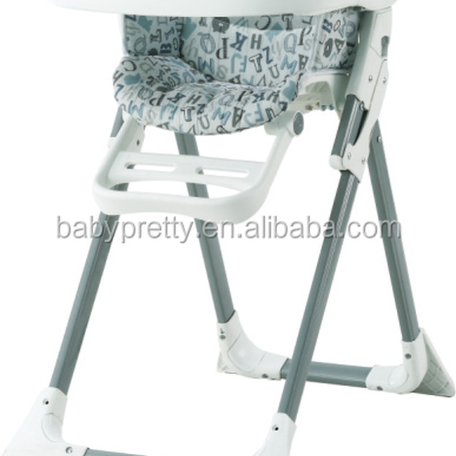en149881 approved baby highchair folding baby chair for baby kids plastic feeding folding