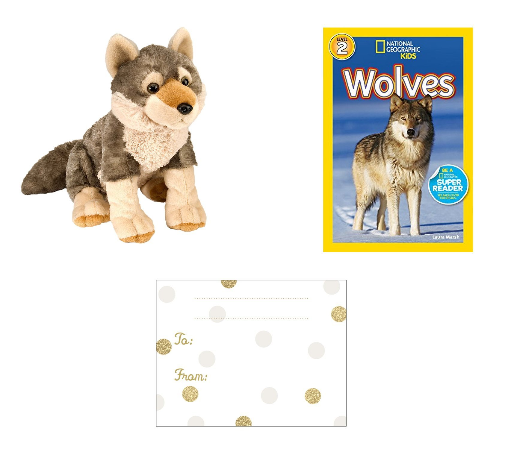 Buy wolf toy gift set wild republic cuddlekins wolf national wolf toy gift set wild republic cuddlekins wolf national geographic wolves book taba m4hsunfo