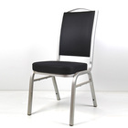 Aluminum Stacking Banquet Chairs with Sponge Seat