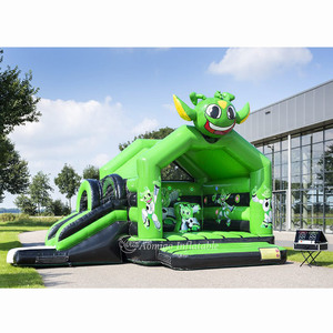 2019 high quality cheap giant commercial inflatable bounce house with IPS system for sale