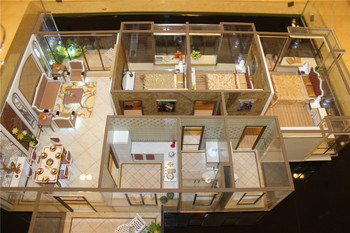 Architectural interior model for house design display for Scale model furniture