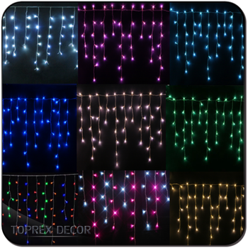 Christmas Outdoor Led Decorative Lights Warm White Cool Fairy