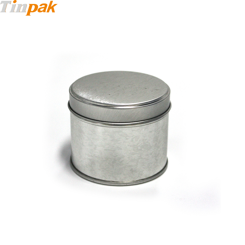 Popular Round Candle Tin Jar with Welded Seam