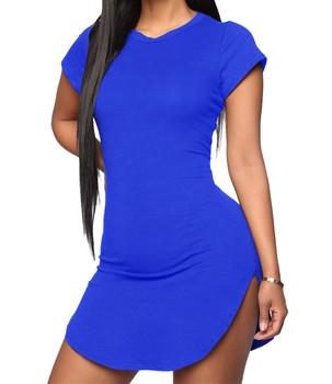 Diseños De Moda Casuales De Las Mujeres Cóctel Piezas T Camisa Vestidos Para Damas Buy Las Mujeres Vestido Modelonuevo Modelo Vestido De Las