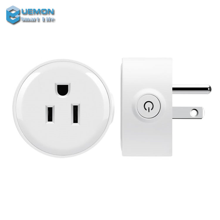 Timing Function Smart home wifi wall outlet US plug mini style remote control power socket