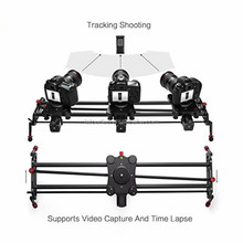 80cm camera slider motorized film shooting slider electronic for photography equipment GP-80QD