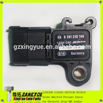 12591290 2133842 5s8025 55573248 93192107 Map Intake Manifold Pressure  Sensor For Chevrolet Aveo Chevrolet Cruze Gmc Acadia - Buy Map Sensor For  Gmc