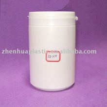 HDPE plastic pill container