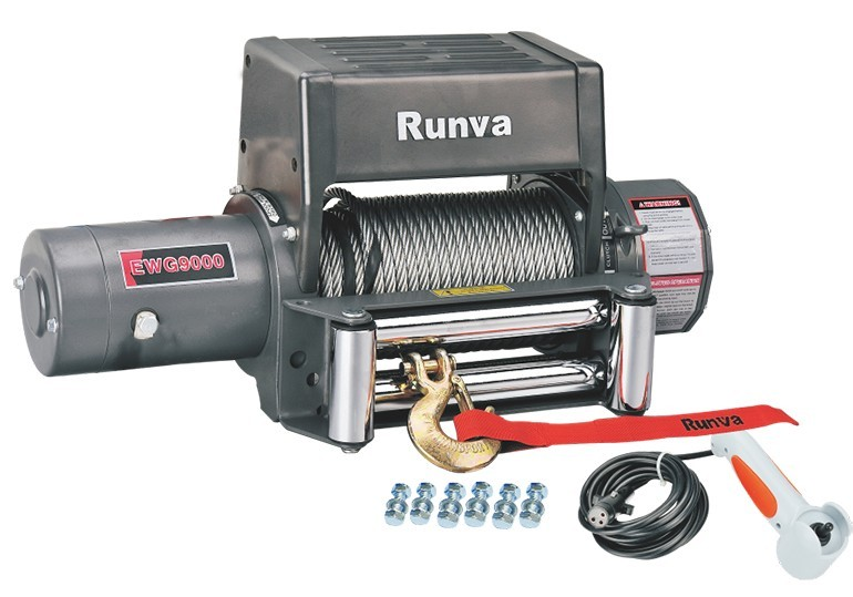 Runva Electric Winch for Jeep, Truck&Suv EWG9000F