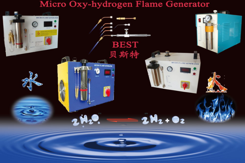 BT-800DFPH China Supplier New Condition kit oxygen hydrogen lab gas generator for welding