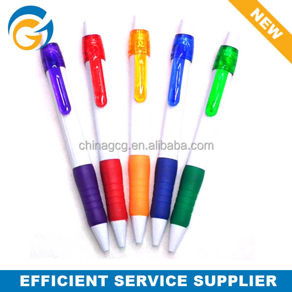 Jumbo Rubber Grip 2 Color Promotion Ball Pen