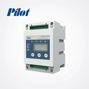 PILOT PMAC201HW Multi Channel 3 phase 4 wire energy meter connection