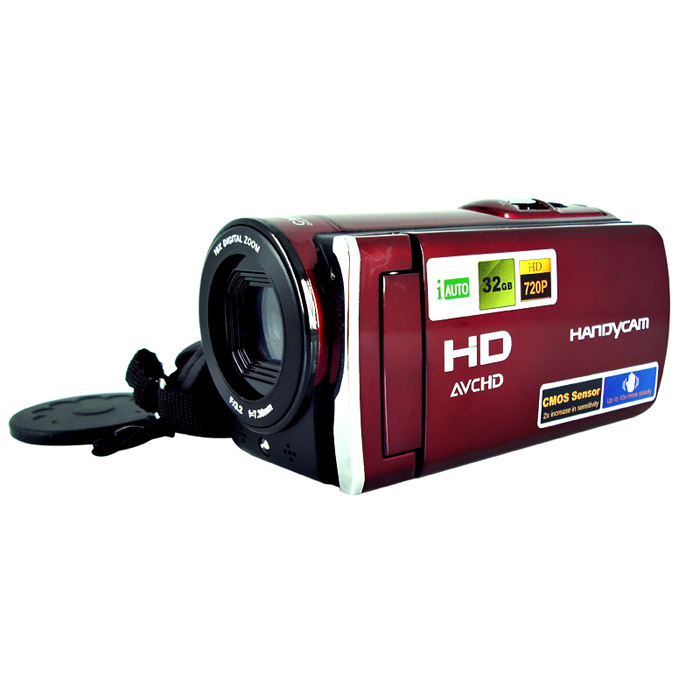"Factory Price 3.0"" Mini Camera DVR DV 16MP Multi Languages Digital Video Camcorder HD 1080P Rechargeable Lithium Battery"
