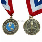 Wholesale engraving plating metal cheap racing medals