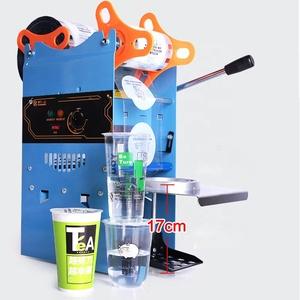 Manual ice cream pp cup sealing machine