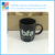 Cheap Price OEM Custom Ceramic Black Mug With Logo