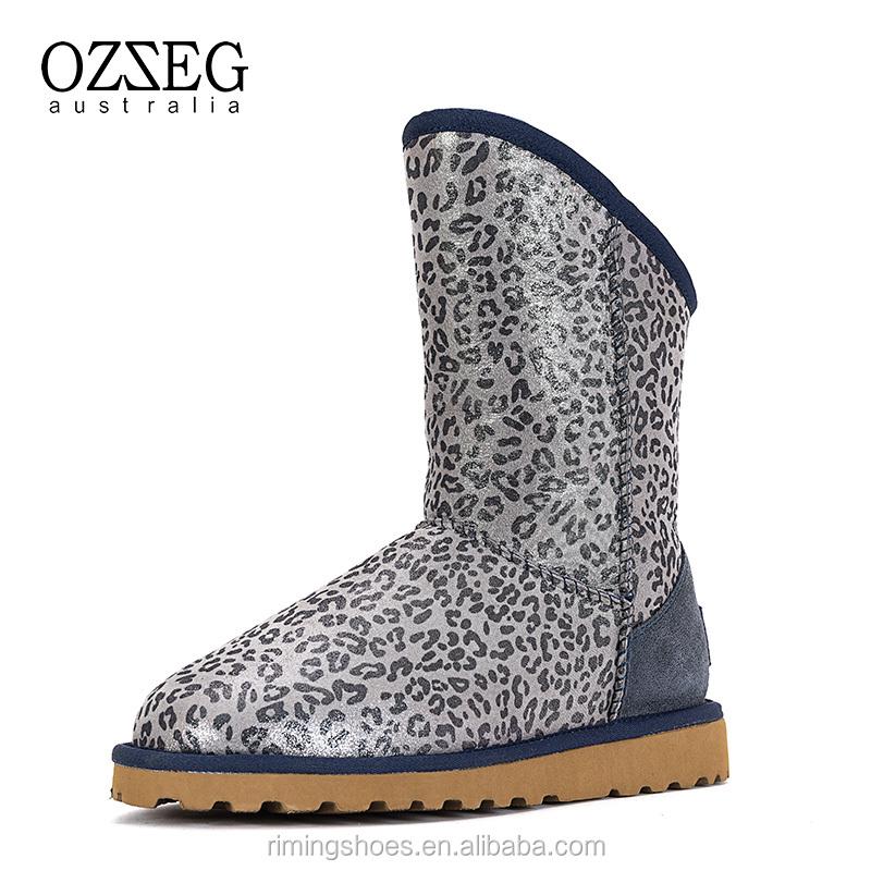 Venta al por mayor mujeres botas de leopardo de las nieves-Compre ...
