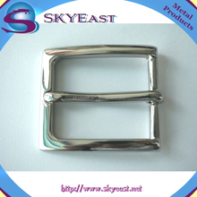 Fashion High Polished and Shiny Nickel Solid Brass Belt Buckles