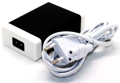 mobile phone accessory 5 USB port Aluminum case 12v tablet charger adapter