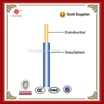 Copper Pvc Wire 1.5mm 2.5mm 4mm 6mm 10mm Single Core Wire - House ...
