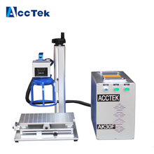 High precision 20w/30w portable laser engraving machine , fiber laser marking machine for gold,silver,stainless steel