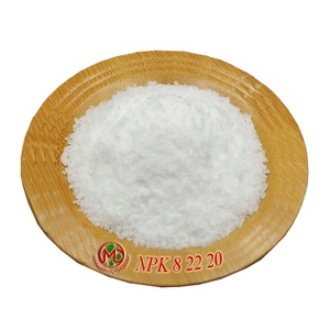 Water-soluble fertilizer NPK 8 22 20 recommended for foliar application