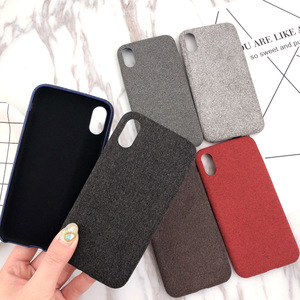 Best Buy Oem Mobile Fabric Cover Phone Case For Iphone X, For Iphone 7 Cloth Phone Case