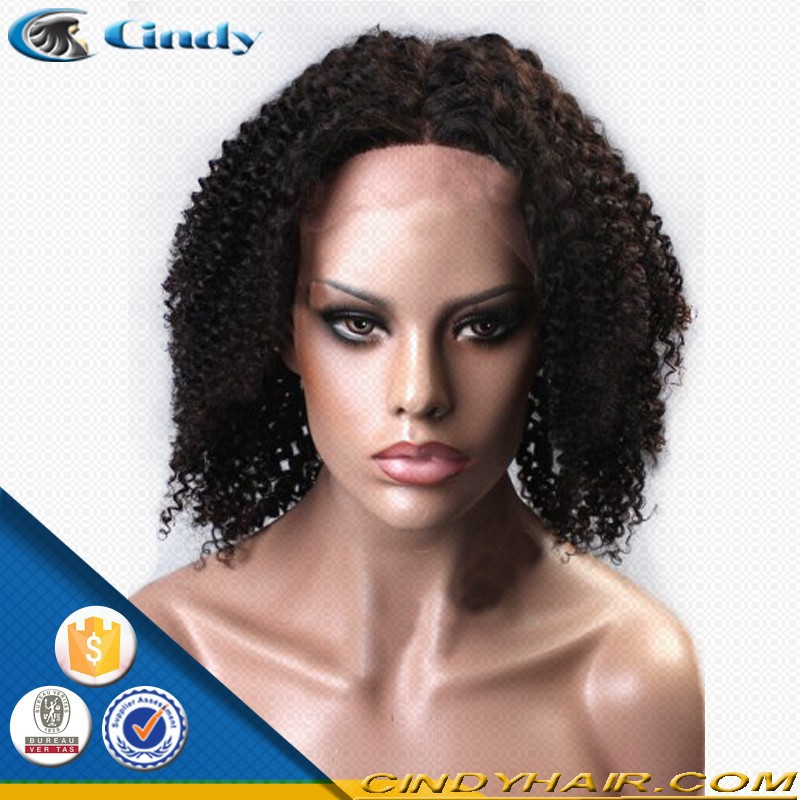 large cap african american cheap human hair short wigs for black women